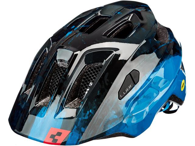 Cube Linok Casco, azul/negro